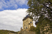 Karlstejn Castle Tower — Stock Photo