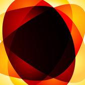 Abstrato laranja — Vetor de Stock
