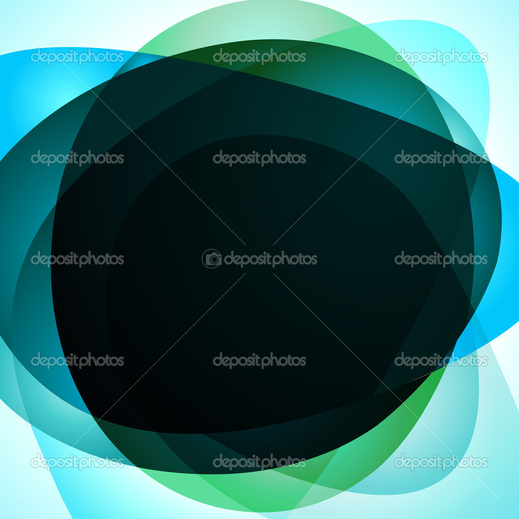 Blue Abstract background. Vector illustration — Stock Vector #3973055