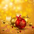 Christmas background — Stock vektor #4466967