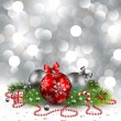Christmas background — Vector de stock #4467136