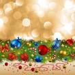 Christmas background — Stock Vector #4467166