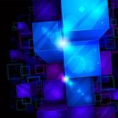 3d-lichte abstracte achtergrond — Stockvector