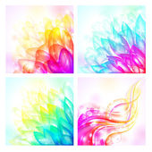 Vector backgrounds — Stock Vector