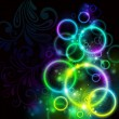 Glowing backgroud - Imagen vectorial
