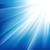 Sol brillaba — Vector de stock
