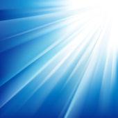 Soleil brillait — Vecteur