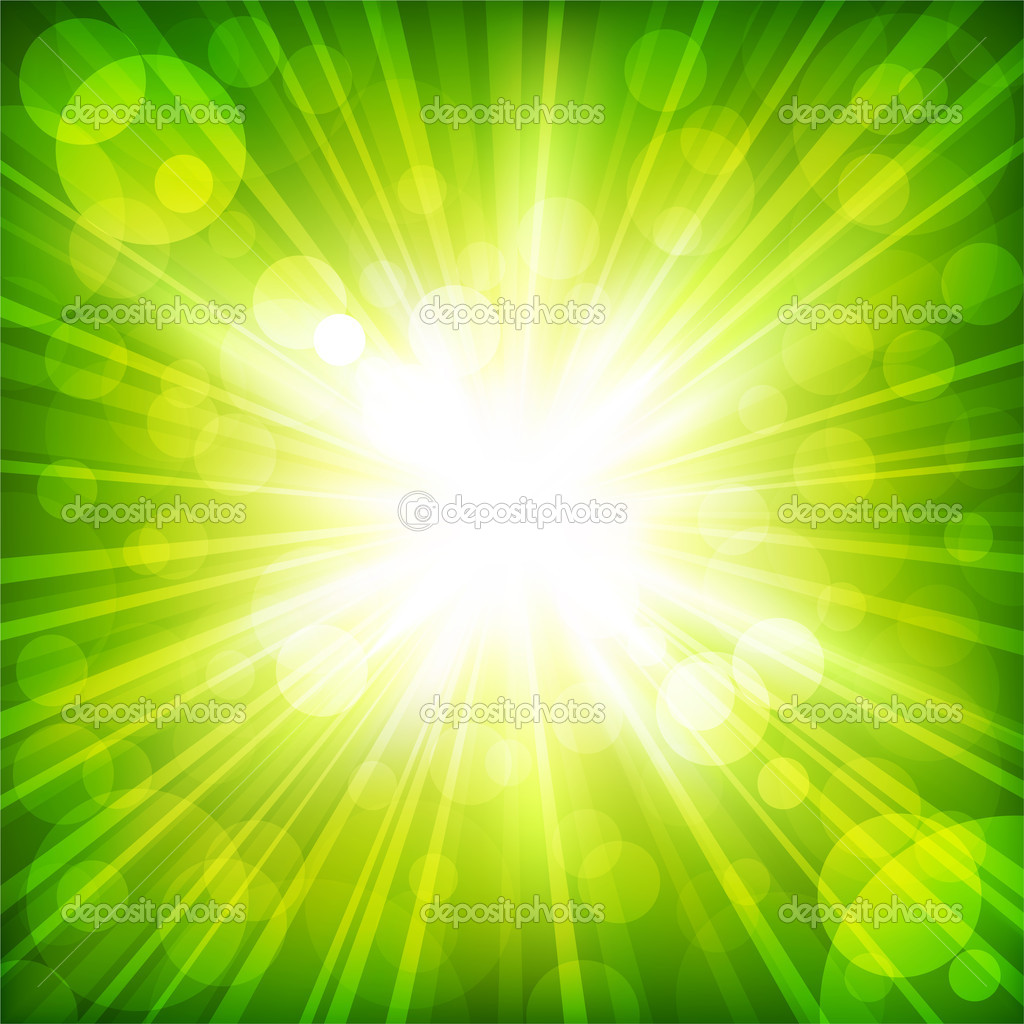 Sunlight. Vector illustration  Stock Vector #4847927
