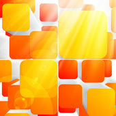 3d bright abstract background — Stock Vector