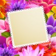 Flower background — Vettoriali Stock