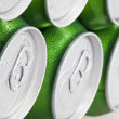 Drinks can tops — Stock Photo