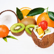 Exotic fruits — Stock Photo