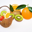 Stock Photo: Exotic fruits