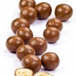 chocolate balls — Stock Photo