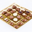 Royalty-Free Stock Photo: Assorted chocolates in the box