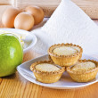 Freshly baked apple pies — Stock Photo