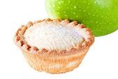 Apple pie with apple — Stock Photo