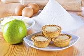 Freshly baked apple pies — Stock Photo