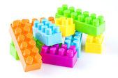 Bloques de plástico — Stockfoto