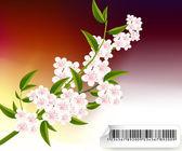 Ilustração de flores — Vetor de Stock