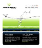 Website-templates — Stockvektor