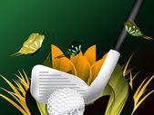 Golf Sport — Stock Vector