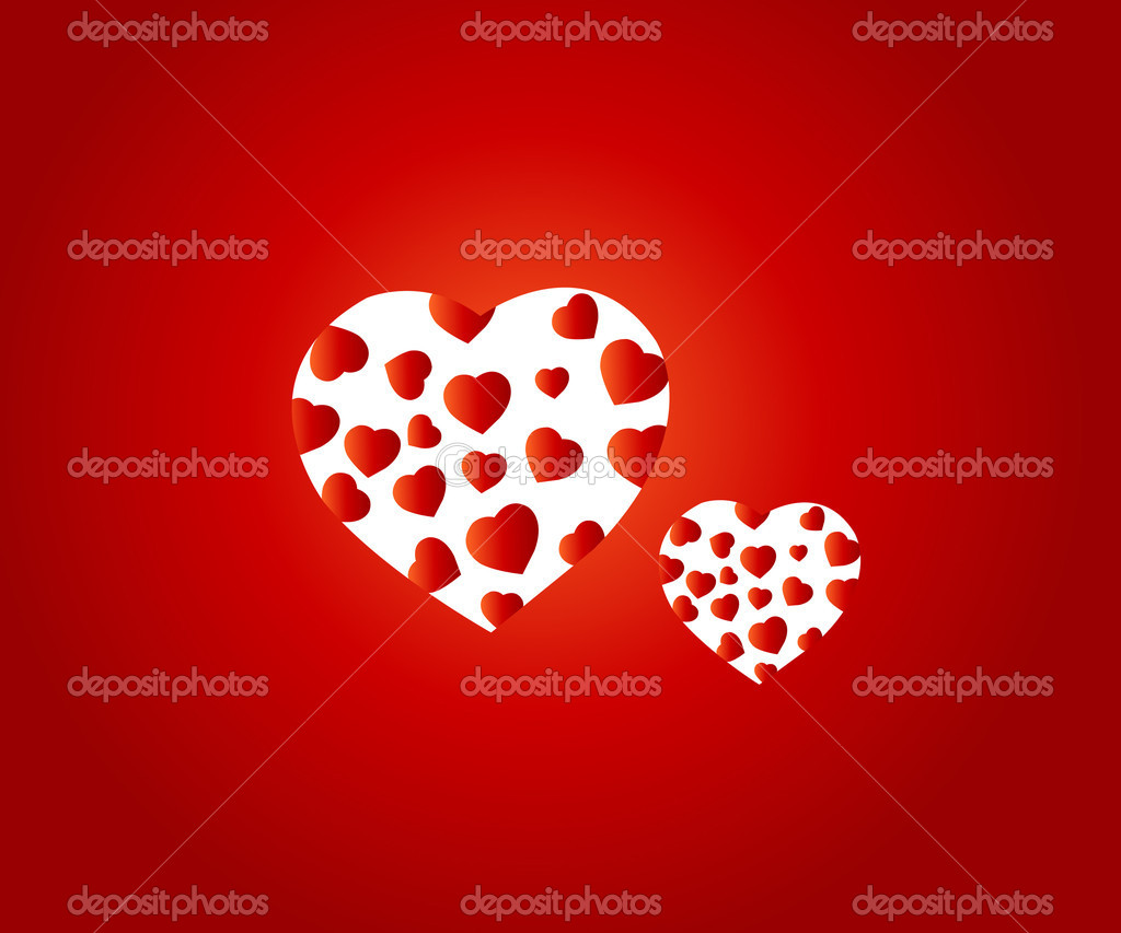 Valentine Illustration, perfect concept for valentine's day easy to use it as greeting card, poster, flyer, Ad. — Stock Vector #4010420