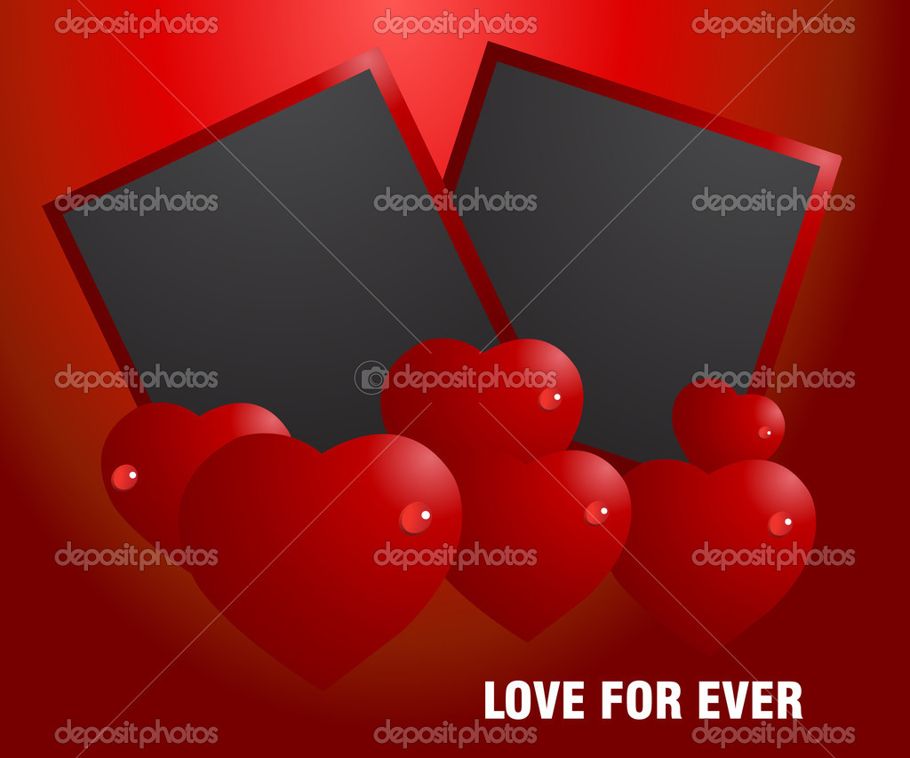 Valentine Illustration, perfect concept for valentine's day easy to use it as greeting card, poster, flyer, Ad. — Stock Vector #4010422