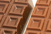 Close-up of bars chocolate — Stock Photo