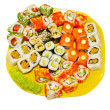 Stock Photo: Sushi. Japanese Cuisine