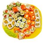 Sushi. Japanese Cuisine — Stock Photo