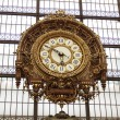 D, Orsay, hours in the museum — Stock Photo