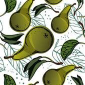 Pear — Stock Vector