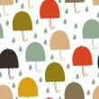 Umbrellas pattern — Stock Vector #4261229