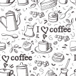 Royalty-Free Stock Vector Image: Coffee pattern