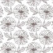 Flower Dahlia background — Stock Vector