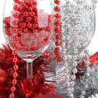 Royalty-Free Stock Photo: Christmas glass