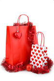 Christmas shopping bag — Stockfoto