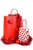Torba na zakupy świąteczne — Zdjęcie stockowe