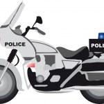 Police motor — Stock Vector #4330106