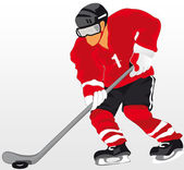 Hockey — Stock Vector