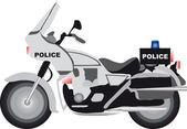 Police motor — Stock Vector