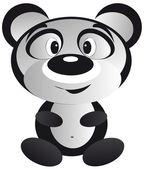 貓熊 — 图库矢量图片