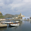 Hafen von Lipari - Port of Lipari — Stock Photo