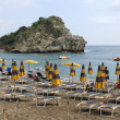 Strand von Taormina - Beach of Taormina — Stock Photo