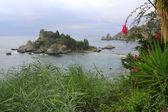 Isola Bella View to Isola Bella — Stock Photo