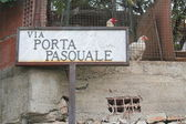 Via Porta Pasquale — Stock Photo