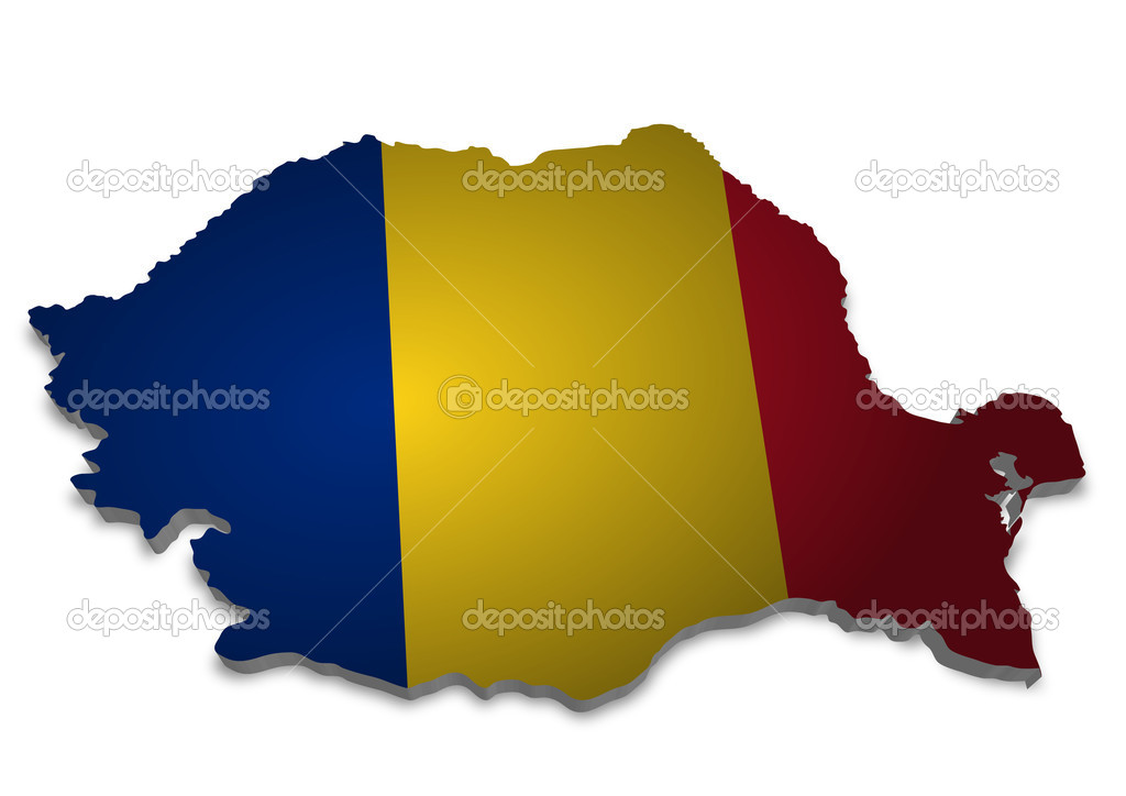Illustration of romania  Stock Photo #5113911