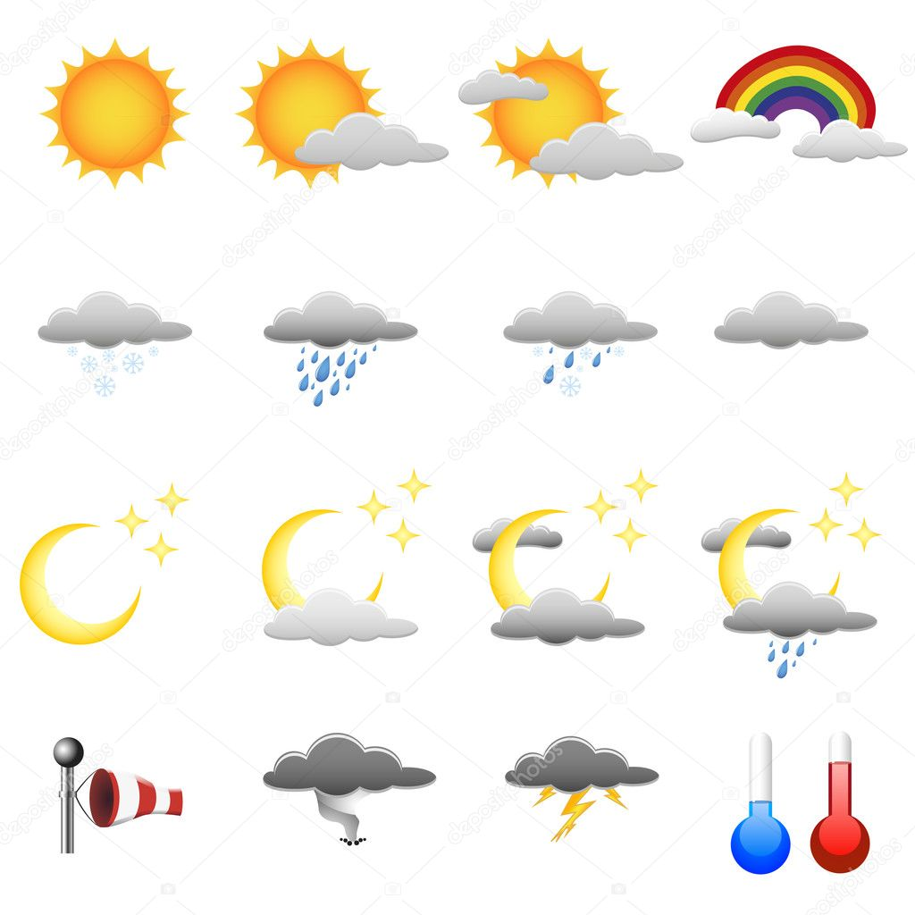 Weather Symbols For Kids Weather Map Symbols Prestige Marques | Apps Directories