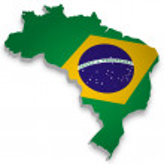 Brasil 3D — Stock Vector